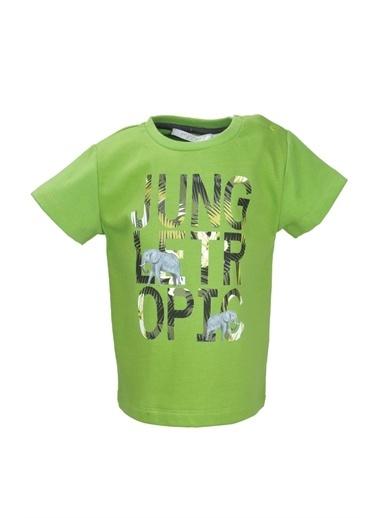 Mininio Yeşil Tropic Jungle T-Shirt (9ay-4yaş) Yeşil Tropic Jungle T-Shirt (9ay-4yaş) Yeşil